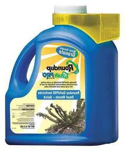 ROUND UP ROUNDUP QUICKPRO Non-Selective Weed Killer, 6.8 Lb.