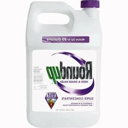 ROUNDUP SUPER CONCENTRATE WEED & GRASS KILLER 1 - ONE GALLON