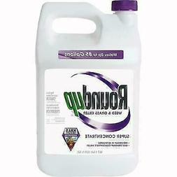 ROUNDUP SUPER CONCENTRATE WEED KILLER -1 GALLON ROUND UP *NE