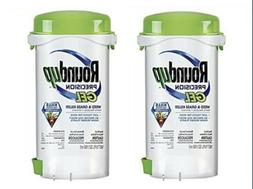 TWO NEW/SEALED RoundUp Precision Gel Weed+Grass Killers 5oz: