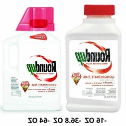 Roundup Weed and Grass Killer Concentrate Plus, 16 OZ / 32 O