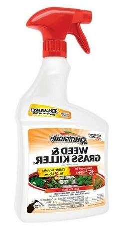 weed and grass killer spray 32 oz
