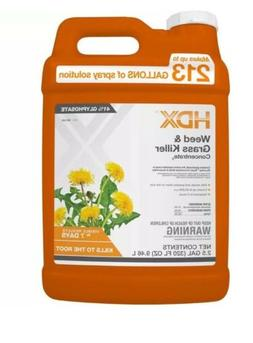 HDX weed killer 2.5 gallons New Free Shipping