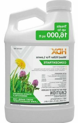 HDX WEED KILLER FOR LAWNS  2,4-D  ! MAKES UP TO 64 GALLONS !