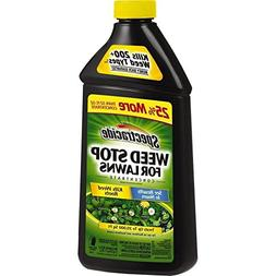 Spectracide Weed Stop For Lawns Concentrate, 40-Ounce, 6-Pac