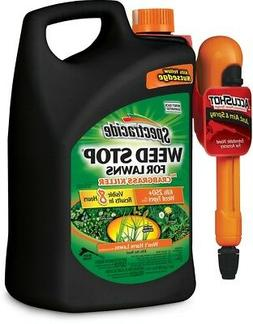 Spectracide Weed Stop For Lawns 1.3-Gallon Weed Killer Plus