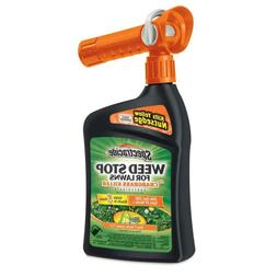 Spectracide Weed Stop for Lawns 32 fl oz Weed Killer Plus Cr