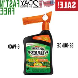 Weed Stop For Lawns Plus Crabgrass Killer Concentrate, Ready